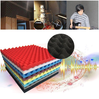 Colors Studio Acoustic Absorption Foam Sound Noise Insulation Panel Tile KTV AU