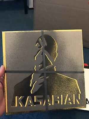 """Kasabian Reason Is Treason 10""""  Limited Edition 1000 Only"""