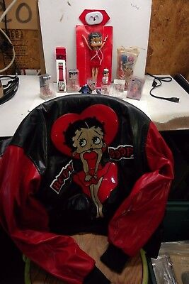 Betty Boop Jacket And Other Items