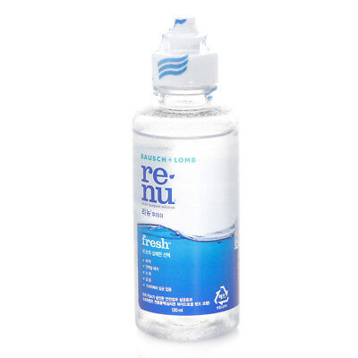 Bausch Lomb RE-NU Fresh Multi Purpose Solution Contact lens 99% Sterilize 120ml