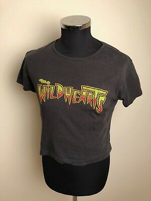 Ladies Vintage Band T-Shirt, The Wildhearts, 90s, Size : 12-14