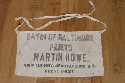 Carpenter Apron Davis Baltimore Paints Martin Hardware Spartanburg S. Carolina