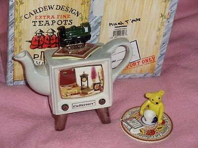 Paul Cardew Channel 4 Collectors' Lot Television Limited Edition Teapot Boxed