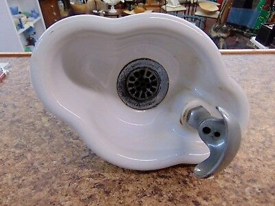 Halsey Taylor White Porcelain Drinking Water Fountain Vintage