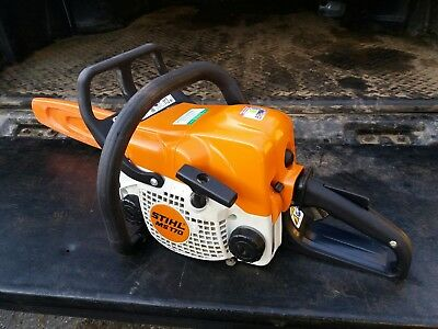 12 inch bar stihl chainsaw mint condition barely used using aspen2 fuel