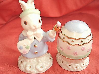 Lenox EASTER OCCASIONS GIFTWARE Bunny & Egg Salt & Pepper