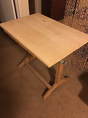 Hamilton Drafting Table - Vintage 50s 60s
