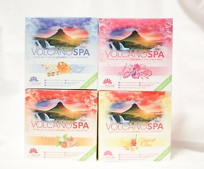 La Palm LaPalm SPA Pure Organics VOLCANO SPA Step 1 to 5 ~5ct/pk~ U PICK