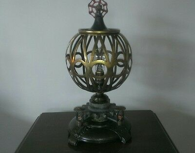 Vintage Machine Age Industrial Age One Of A Kind Steampunk Table Lamp Art