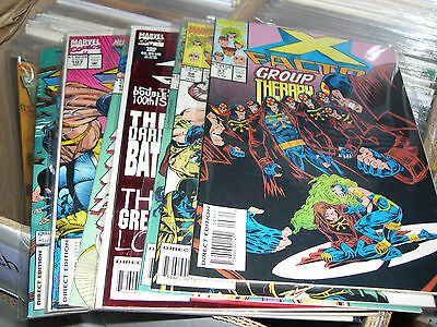 X-Factor Comic Book Lot of 10 Issues