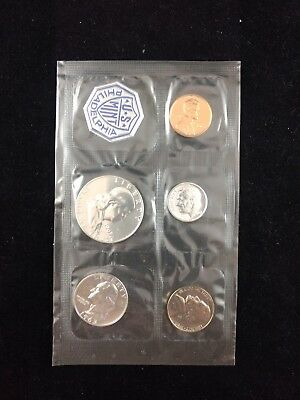 1963-P U.S. Mint Sealed Proof Set 90% Silver Uncirculated Coins No Reserve