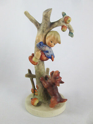 Vintage MI Hummel Culprits 56/A Boy Dog Tree Figurine TMK3 West Germany Goebel