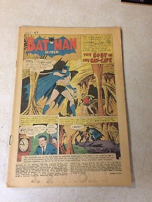 Batman #121 Super Key Issue, 1St Mr Freeze(Mr Zero) 1959, Dc, Super Hot!!!!
