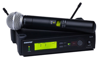 Shure SLX24/SM58 Handheld Wireless Microphone System | G4 Band | New