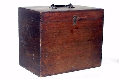 RARE - c1883 Rochester Optical Company Storage Box From Thom H McCollin Supplies