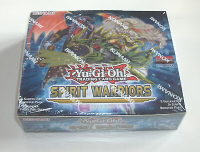 Yu-Gi-Oh - Spirit Warriors - Display - NEU & OVP - Deutsch