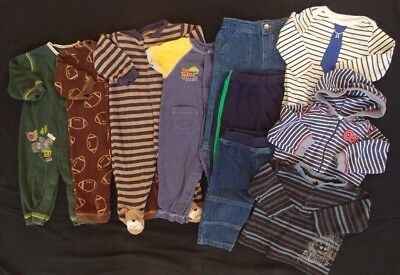 Baby Boy Mixed Clothes Size 6-9 Months LOT!