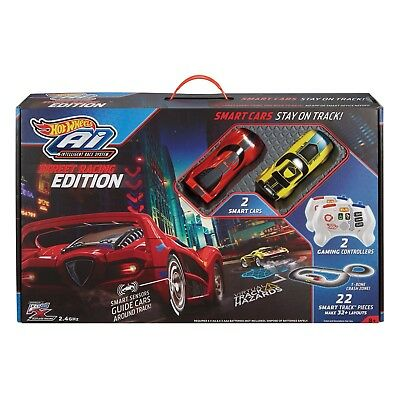 Hot Wheels Car Track AI Intelligent Race System Starter Kit - RC - 5m + of Track