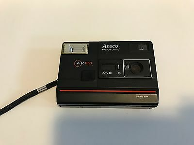 Vintage Ansco Motor Drive 350 Disc Camera Classic slim old school photography