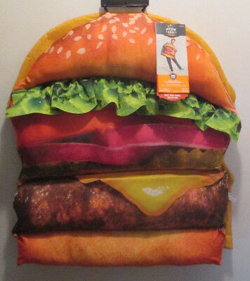 malt shop collection one size cheeseburger kids adult halloween costume