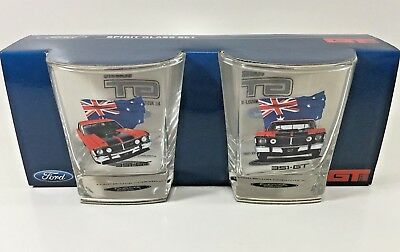 Ford Xw Xy V8 351 Gt Aussie Muscle Car 2 Pack Spirit Scotch Glasses V8 Supercars