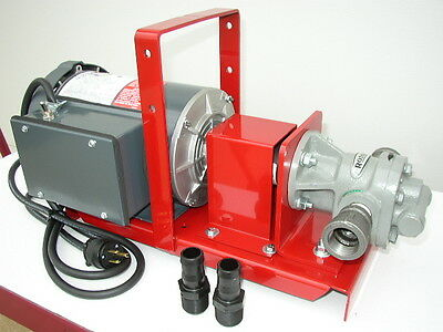 New Lincoln 20 GPM Waste Oil/Bulk Oil Transfer Pump,Vegetable Oil,WVO,Biodiesel
