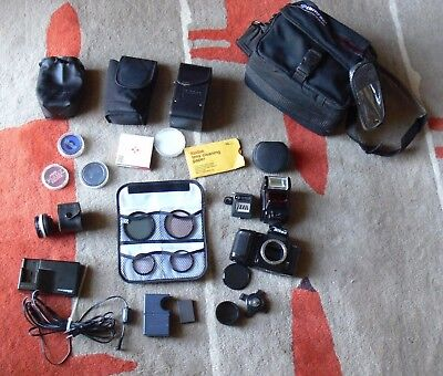 LOT Nikon Camera & Accessories & Tamrac Bag & Cases & Lens & Filters & Chargers