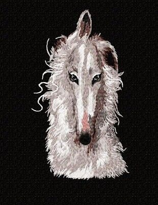 Borzoi Hoodie Jerzees Gold  2XLG  Embroidery Head