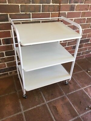 3 Tier Beauty Hair Salon Spa Trolley Cart Cosmetic Storage Display Shelf