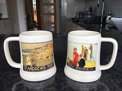 St Andrews & North Berwick Golf Mugs
