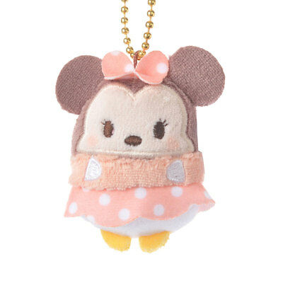 Disney Ufufy Small Minnie Mouse plush Keychain from Disney Store Japan