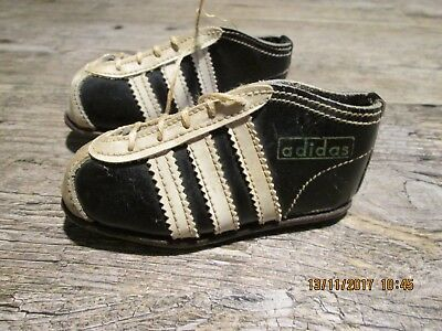 Mini Adidas Oldschool Sneakers 10,5x5,5x3,5cms Leder leather Fußball soccer