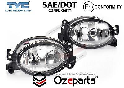 Mercedes Benz E Class W211 06~09 Pair LH+RH Fog Light spot Driving Lamp Oval