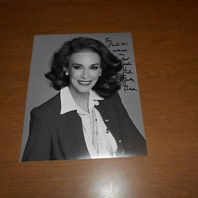 Helen Gurley Brown was an American author, publisher Hand Signed Photo