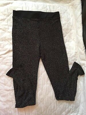 Girls Sparkly Leggings Age 9-10 Years