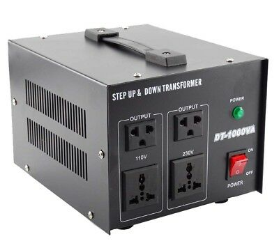 Step Down / Up 230V-110V AC Transformer UK-US Voltage Converter 500W 1000W 2000W