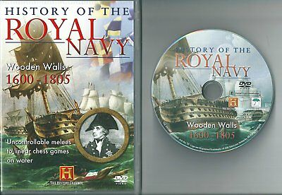 History of the Royal Navy - Wooden Walls 1600-1805 J1a DVD