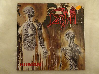 LP Death – Human/Org. 1. Press/RC Records/RC 9238 1/OIS/Schallplatten/Vinyl/RAR