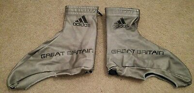 Great Britain Cycling Team Adidas Silver Aero Overshoes Time Trial