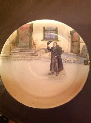 Royal Doulton Dickens Ware Saucer D3020 Mr Squeers