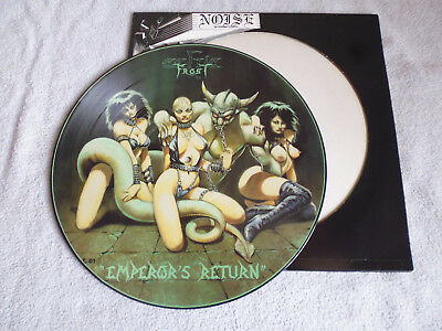 Celtic Frost ‎– Emperor's Return Picture Disc LP / RAR FIRST PRESS / 1986 Noise