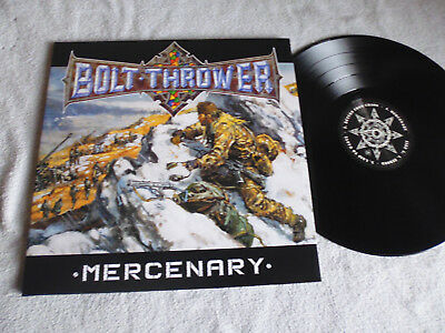 Bolt Thrower ‎– Mercenary Limited Edition Vinyl / 2011 Metal Blade Records