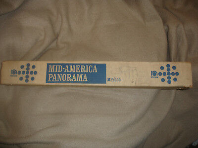 Rare Vintage Nystrom Mid-America Panorama Map 18 Feet Long 1969
