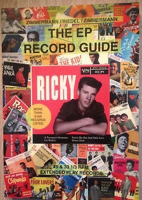 Book: THE EP RECORD GUIDE - Bibel für Rock'n'Roll EP's