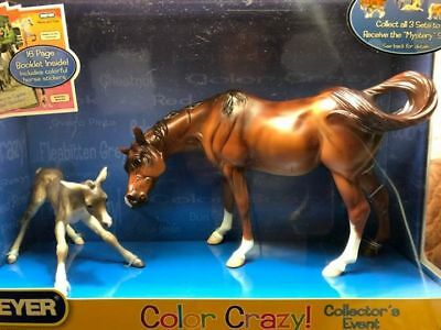 Breyer Susecion and Le Fire Color Crazy Mint in Box No Spot Variation