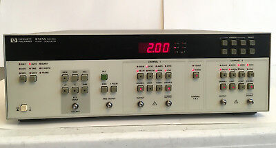 HP Agilent 8131A 500MHz 2-Channel Pulse Generator opt 020 TESTED