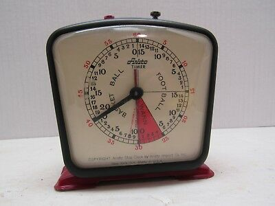 Vintage Aristo Football and Basketball Stop Clock