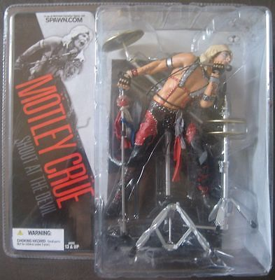 Motley crue Vince Neil action figures McFarlane toys seltene from 2005 misb