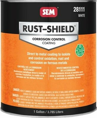 RUST-SHIELD -2.8 White SEM-28111 Brand New!