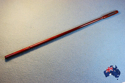 Flute cleaning rod wood